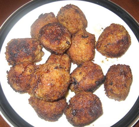 Fried Breaded Meatballs | Kate's Cuisine