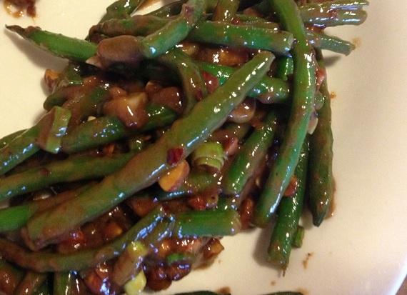 Green Bean Satay