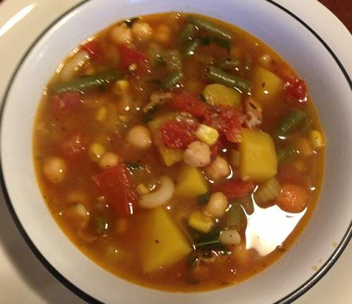 Jamie's Minestrone Soup