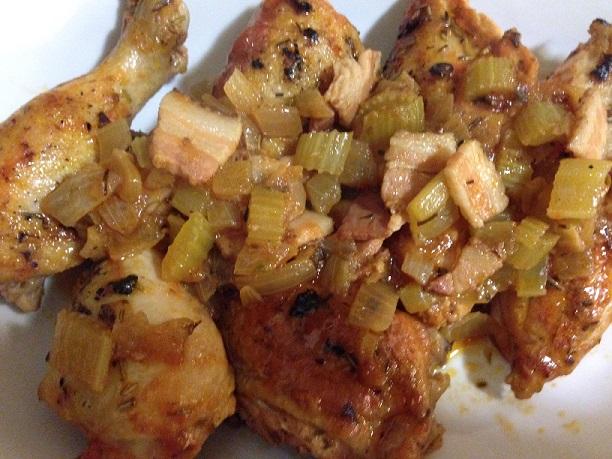 Marios Chicken Cacciatore
