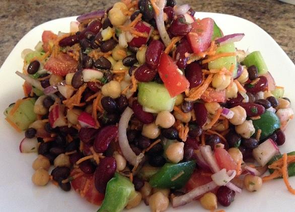 Bean Eveyrthing Else Salad