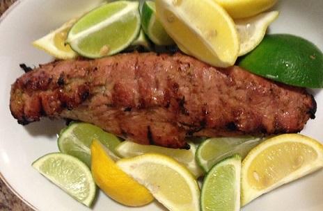Lemon Lime Pork