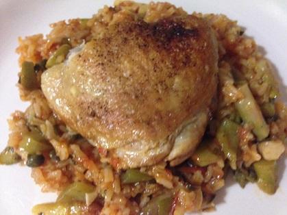 Spanish Chicken Dinner