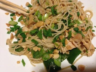 Peanut Somen Noodles