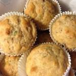 Cinnamon Basil Muffins