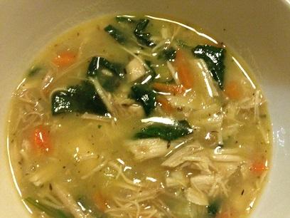 Cream of Turkey Soup