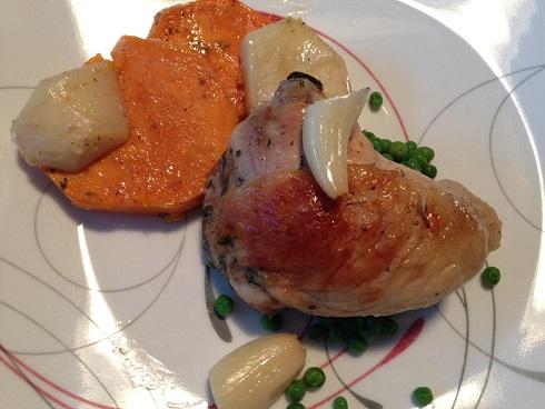 Double Potato Chicken