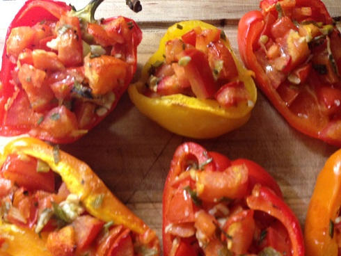 bruschetta-stuffed-peppers