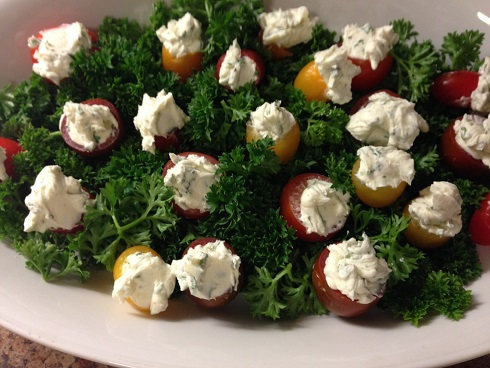 goat-cheese-stuffed-cherry-tomatoes