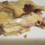 Chicken Cordon Bleu Lasagna Slow Cooker