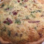 Broccoli and Prosciutto Quiche