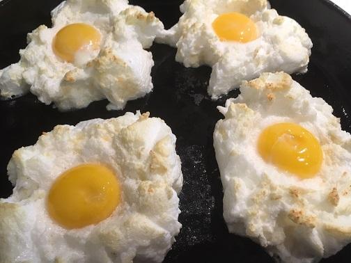 A perfect cloud egg